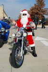 Santa ready to ride!